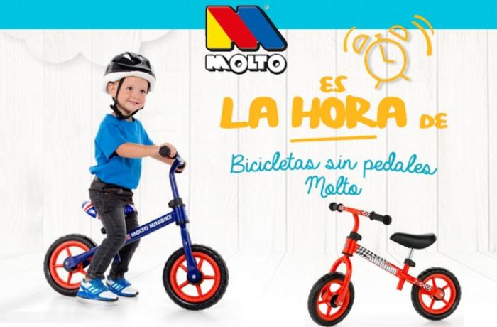 bicicletas sin pedales Molto