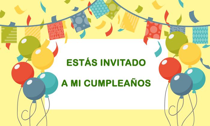 invitaciones de cumpleaos originales molto - Invitaciones De Cumpleaos Originales