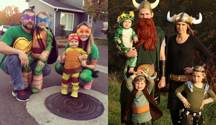 10 ideas de disfraces familiares para carnaval