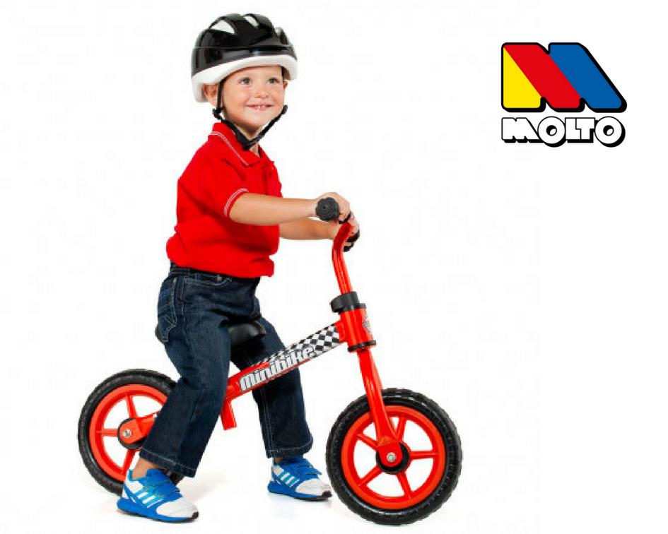 Bicicleta sin pedales Moltó