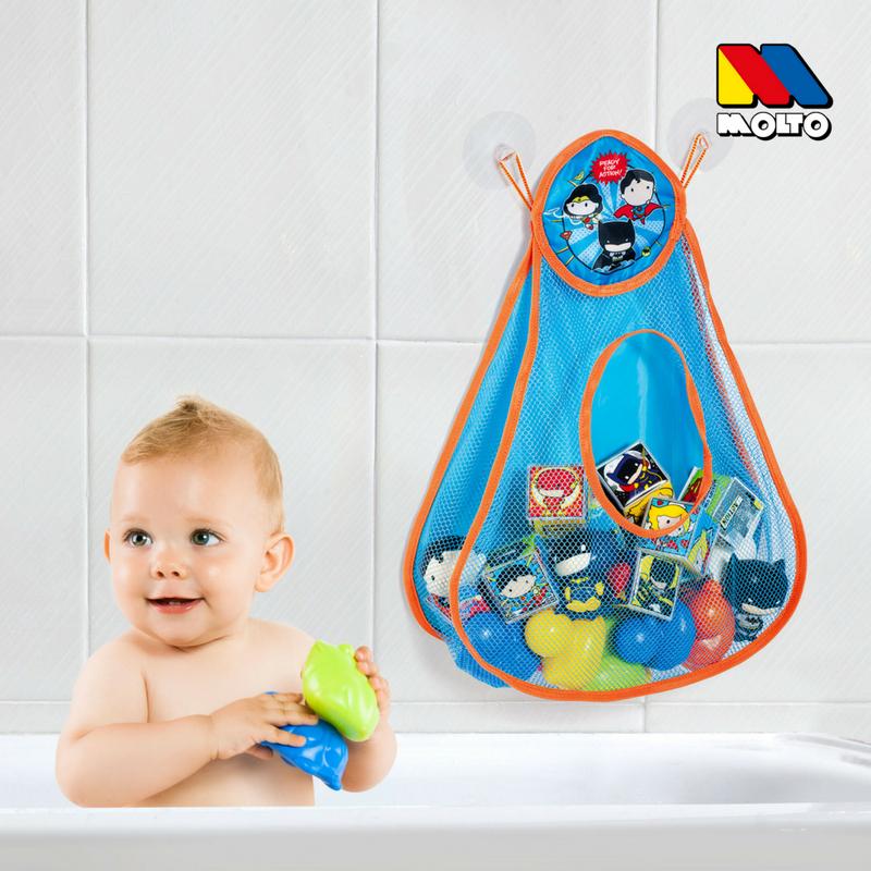 organizador de juguetes de bano molto