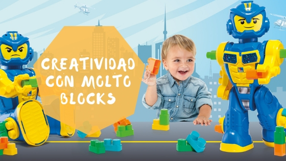 Creatividad con Molto Blocks