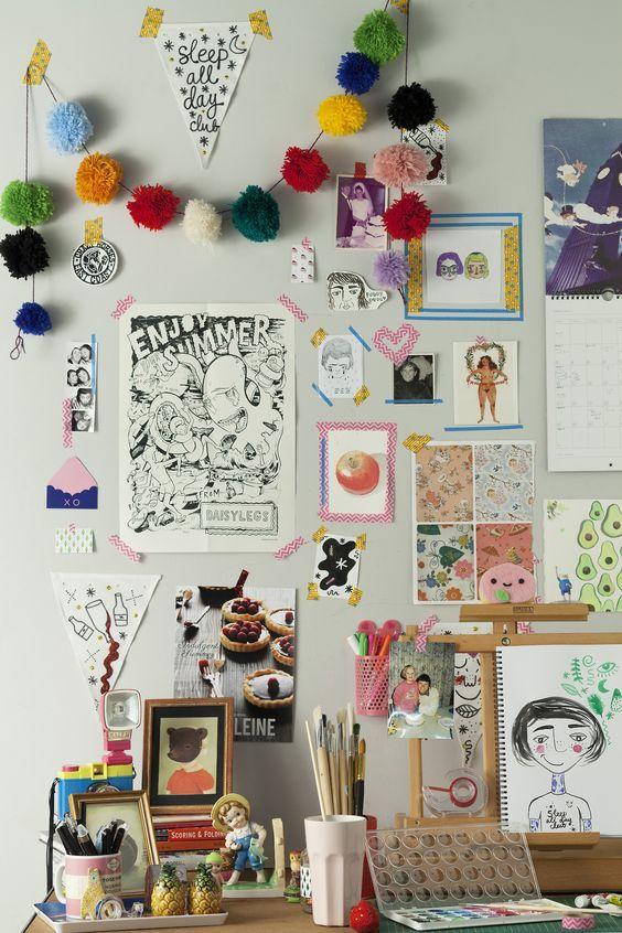 Decoración para fomentar la creatividad_ Inspírate y CREA