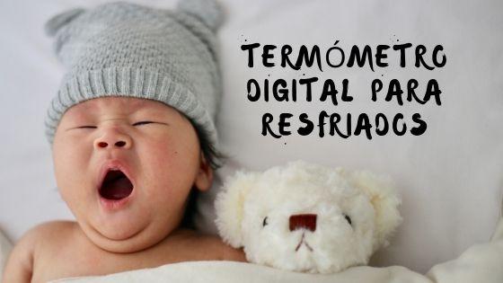 Termómetro digital para resfriados