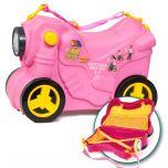 Maleta infantil Molto Smiler Moto maleta deluxe-Rosa