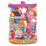 Bolsa Blocks Rosa 80 pcs