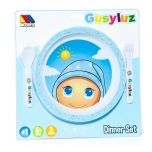 Vajilla mesa GusyLuz en azul claro - Set 3 pcs