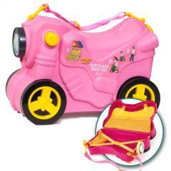 Molto Smiler Moto maleta deluxe-Rosa