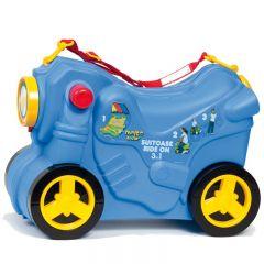 Molto Smiler Motorrad Kinderkoffer-Blau