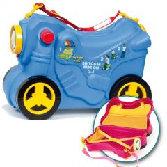 Moltó Smiler Moto maleta deluxe-Azul