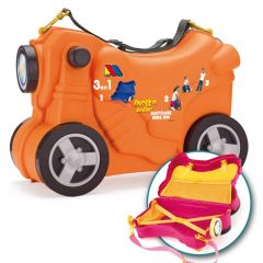 Molto Smiler Moto maleta deluxe-Naranja