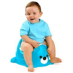 Orinal infantil de color azul