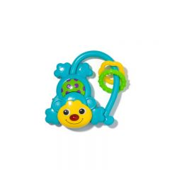 Toy to stimulate the baby's senses. Monkey design.