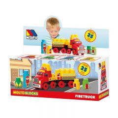 Camión de bomberos de Bloques 25 pcs.