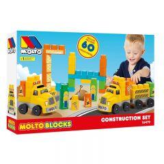 Camión de construcción de Bloques 60pcs
