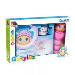 GusyLuz vajilla - Set 5 pcs GusyLuz + GusyLuz Pink ®