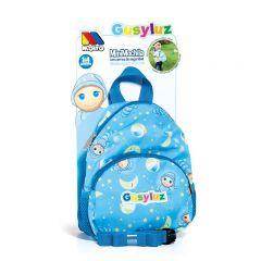 Mochila azul diseño Gusy Luz con Arnés