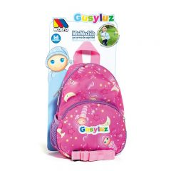 Gusy Luz Pink Backpack