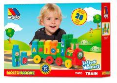 Tren de bloques 28 pcs.