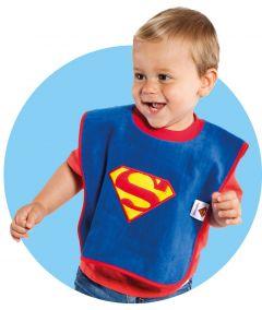Babero de Superman - Liga de la Justicia