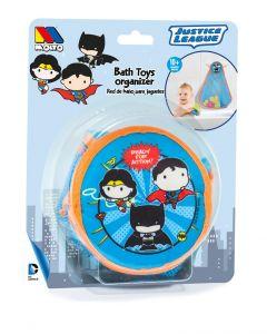 Organizador de juguetes de baño con ventosas para colgar - Liga de la Justicia