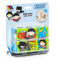 Puzzle de cubos para el baño - Personajes Liga de la Justicia