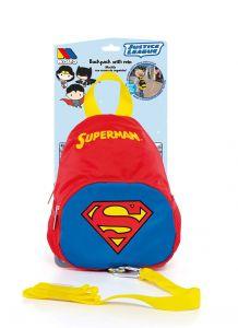 Mochila Superman con arnés de seguridad