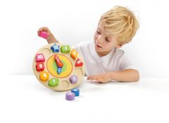 Oh! Clock Wooden Toy Clock