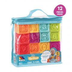 Bolsa Cubos sensoriales 12 pcs Molto