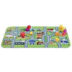 Extra soft playmat - City