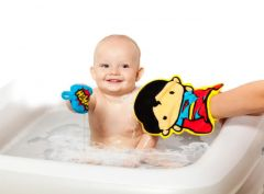 Manopla de baño Superman