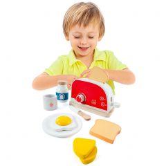 Tostadora de madera de juguete Toaster set Molto