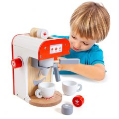 Cafetera de juguete de madera Coffee Maker Molto