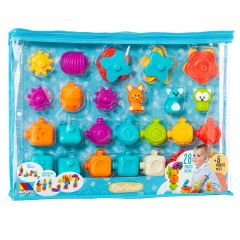 Molto Play&Sense sensory toy for babies, 28 items