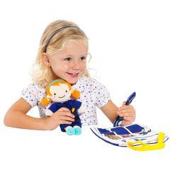 Muñeca trapo médica y policía Lily & Fun Moltó