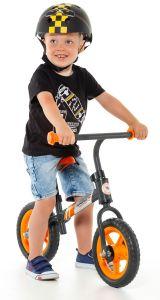 Bicicleta sin pedales Minibike Naranja Molto - sin casco