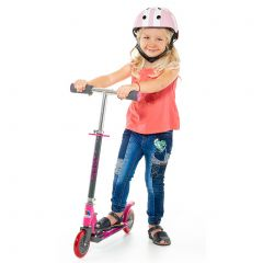 Patinete plegable City Scooter Moltó Rosa