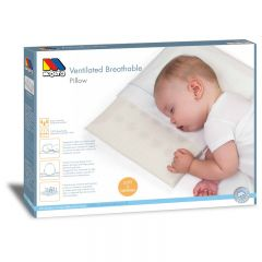 Small ventilated and breathable baby pillow