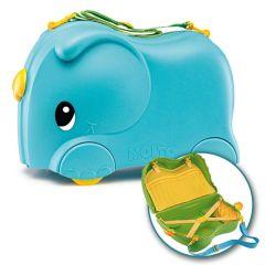 Maleta infantil Molto Smiler + Complementos Azul