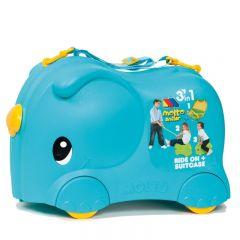 Molto Smiler Kinderkoffer Blau
