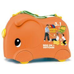 Moltó Smiler maleta + Complementos-Naranja
