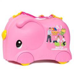 Molto Smiler Kinderkoffer Pink
