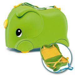 Molto Smiler Kinderkoffer + Zubehör Grün