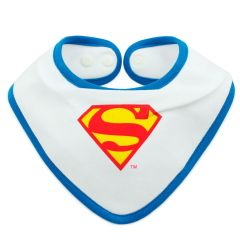 Babero + Bandana de Superman - Liga de la Justicia