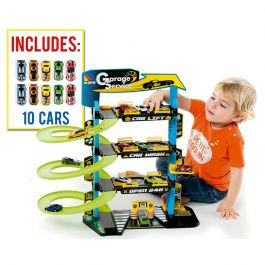 Parking Infantil Molto 4 Plantas + 10 Coches
