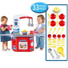 Cocina Infantil Molto First Chef + Set acc. cocina