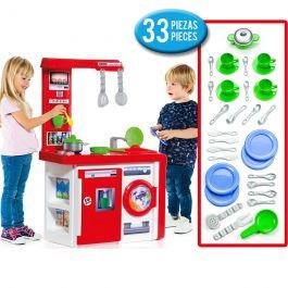 Cocina Infantil Molto Kitchen + Set acc. cocina