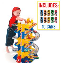Parking Infantil 6 Plantas + 10 coches incluidos